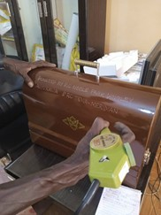 Sewing Machines delivered